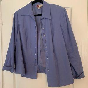 JM Collection blazer jacket